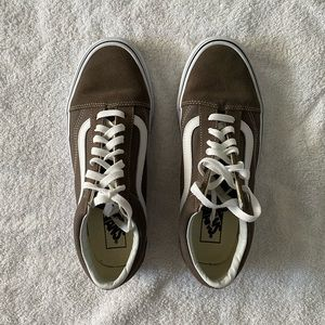 Vans Old Skool Skate Shoe - Brown